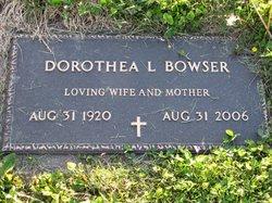Dorothea Louise <i>Innes</i> Bowser