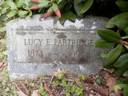 Lucy Emma <i>Smith</i> Partridge