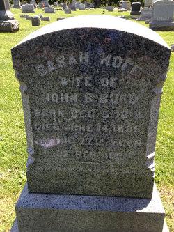 Sarah <i>Hoff</i> Burd