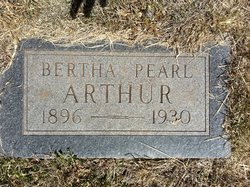Bertha Pearl Arthur