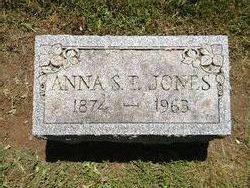 Anna S. <i>Thomas</i> Jones