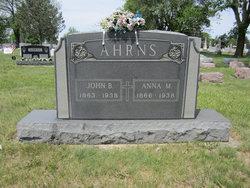 Anna Marie <i>Pontius</i> Ahrns