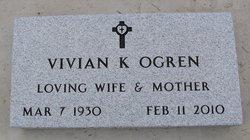 Vivian K. <i>Pfister</i> Ogren