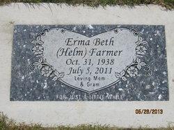 Erma Beth <i>Helm</i> Farmer
