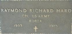 Raymond Richard Haro