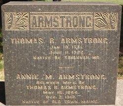 Annie Marie <i>Burnham</i> Armstrong