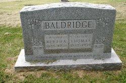 Bertha E <i>Russell</i> Baldridge