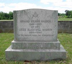 Lizzie <i>Blackwell</i> Manson
