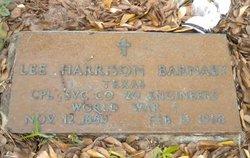 Lee Harrison Barnaby