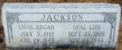 Opal Lois <i>Holder</i> Jackson