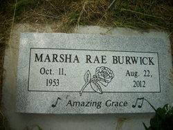 Marsha Rae <i>Cairns</i> Burwick