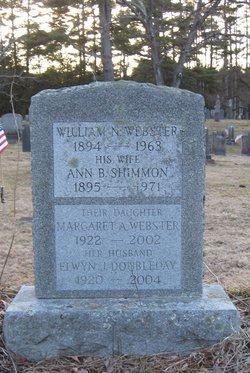 Margaret Ann <i>Webster</i> Doubleday