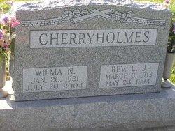 Wilma <i>Bland</i> Cherryholmes