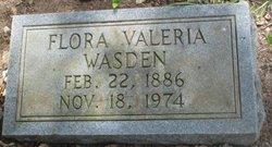 Flora Valeria <i>Brantley</i> Wasden