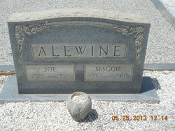 Mary Margaret Maggie <i>McElreath</i> Alewine