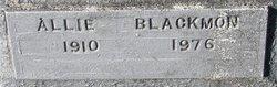 Allie Blackmon