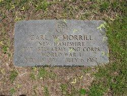 Carl Wesley Morrill