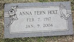 Anna Fern <i>Hoppe</i> Holt