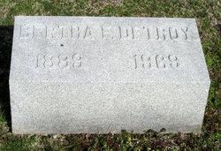 Bertha <i>Froelich</i> Detroy