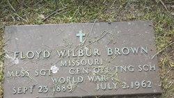 Floyd Wilbur Brown