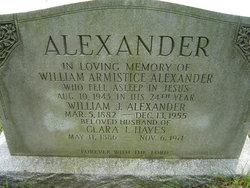 Clara Isabella <i>Hayes</i> Alexander