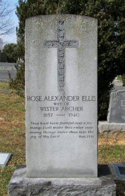Rose Alexander <i>Ellis</i> Archer