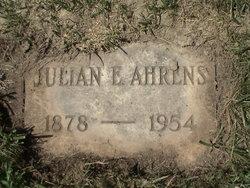 Julian E. Ahrens