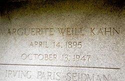 Marguerite <i>Weill</i> Kahn