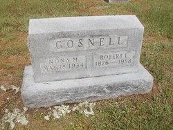 Nona M. <i>Meadors</i> Gosnell