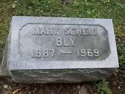 Mary A Parker <i>Scheid</i> Bly