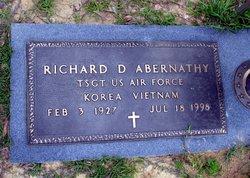 Sgt Richard Darwin Abernathy