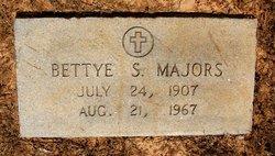 Bettye <i>Sanders</i> Majors