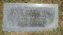 Janie Marie <i>Stevenson</i> Hall