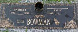 Rev Harold I. Bowman