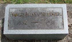 Frances <i>Belknap</i> Hollenberg