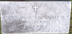 Kenneth Oliver Headley, Sr