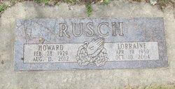 Lorraine Rusch