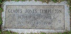 Gladys <i>Jones</i> Templeton
