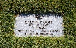 Calvin P Goff