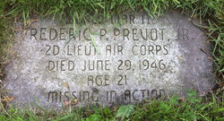 Lieut Frederic P. Prevot, Jr
