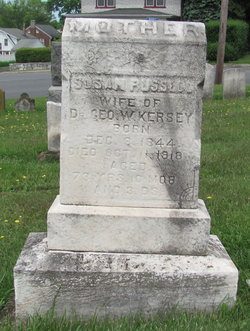 Susanah M <i>Russell</i> Kersey