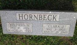 Clara Jane <i>Cox</i> Hornbeck