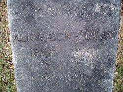 Alice <i>Cone</i> Clay