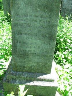 Martha E <i>Mapes</i> Cole
