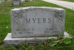 Mildred A Myers