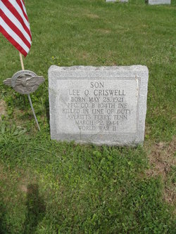 PFC Lee O Criswell