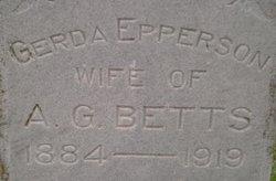 Julia Gerda <i>Epperson</i> Betts