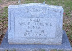 Annie Florence McNeal