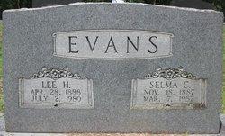 Lee Horace Evans, Sr