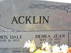 Debra Jean <i>Branscum</i> Acklin